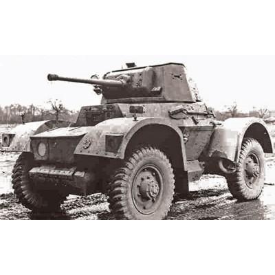 Zvezda Maquette véhicule militaire : automitrailleuse daimler mk.I