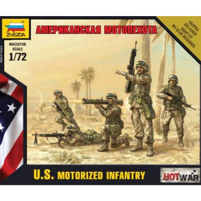 Zvezda Figurines militaires : Infanterie mécanisée US