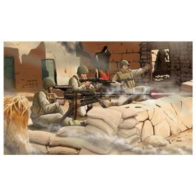 Zvezda Maquette mitrailleuse soviétique utes