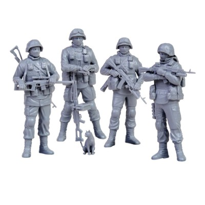 Zvezda Figurines militaires : Modern Russian Infantry Polite People