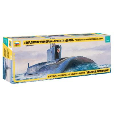 Zvezda Maquette sous-Marin : sous-marin nucléaire classe borei