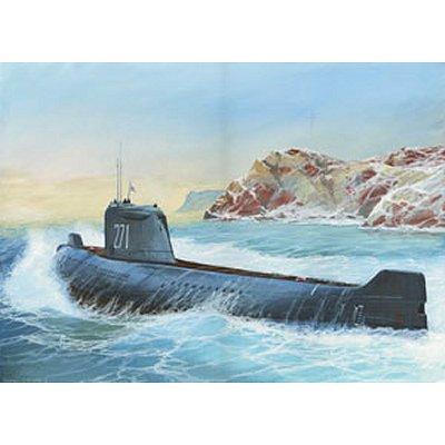 Zvezda Maquette sous-Marin soviétique k-19