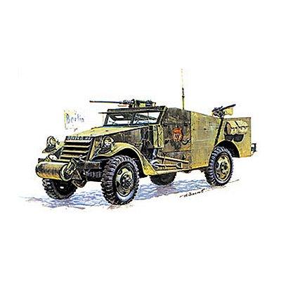 Zvezda Maquette m-3 armored scout car