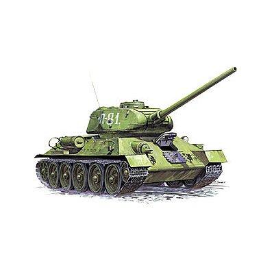 Zvezda Maquette charmoyen soviétique t-34/85