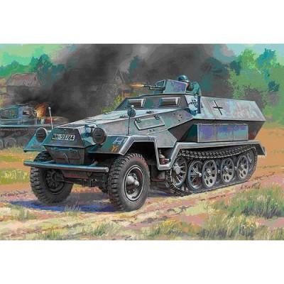 Zvezda Maquette half-Track: sd.Kfz.251/1 ausf.b