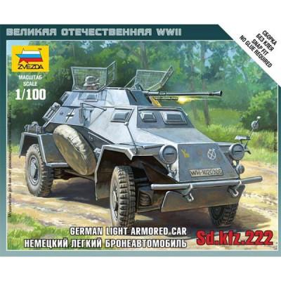 Zvezda Maquette véhicule blindé sd.Kfz.222