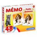 Clementoni Mémo Pocket Les Petits des Animaux