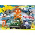 Clementoni Puzzle 24 pièces maxi : Planes : Dusty vs Skipper