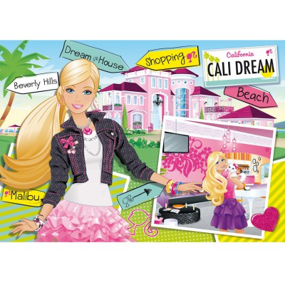 Clementoni Puzzle 104 pièces : Barbie