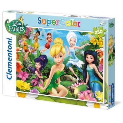 Clementoni Puzzle 250 pièces : disney fairies