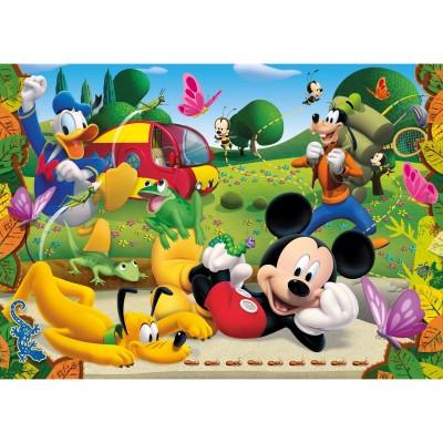 Clementoni Puzzle 60 pièces : mickey et ses amis