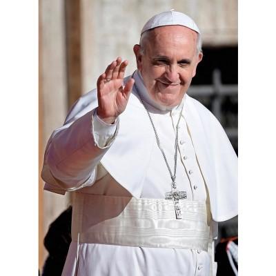 Clementoni Puzzle 1000 pièces : pape françois