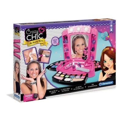 Clementoni Coffret miroir et maquillage Crazy Chic