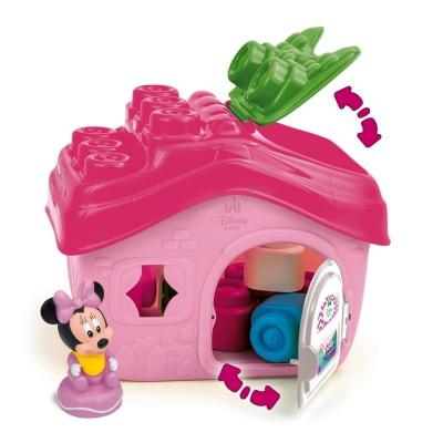 Clementoni Cubes souples baby clemmy : la maison de minnie