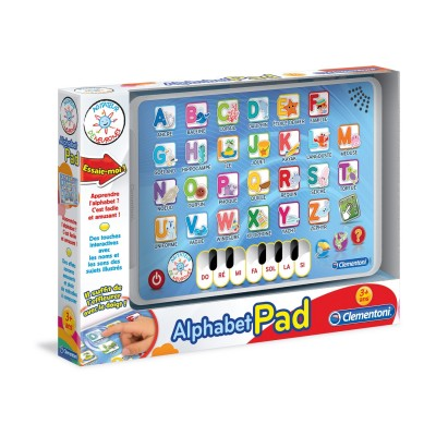 Clementoni Tablette éducative : L'alphabet