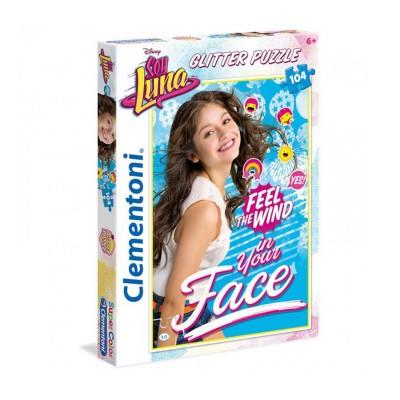 Clementoni Puzzle brillant 104 pièces : Soy Luna