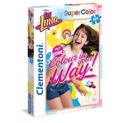 Clementoni Puzzle 104 pièces Super Color : Soy Luna