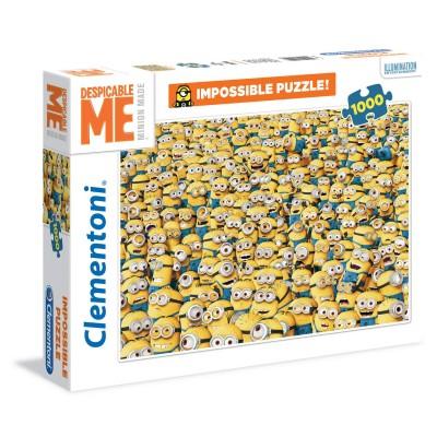 Clementoni Puzzle 1000 pièces : minions
