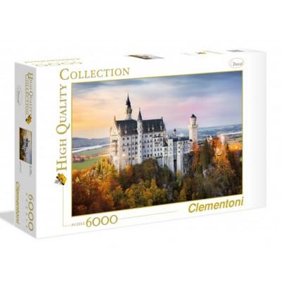 Clementoni Puzzle 6000 pièces : neuschwanstein