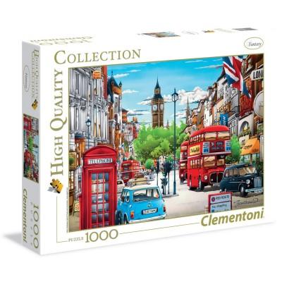 Clementoni Puzzle 1000 pièces : Londres