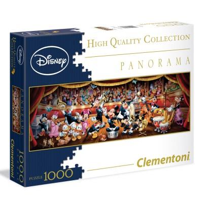 Clementoni Puzzle 1000 pièces panorama : disney classic