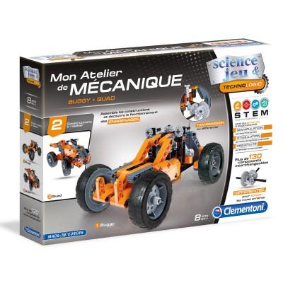 Clementoni Atelier mécanique : buggy et quad