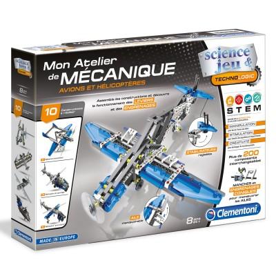 Clementoni Atelier mécanique : avions et hélicoptères