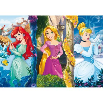 Clementoni Puzzle 60 pièces maxi : princesses disney