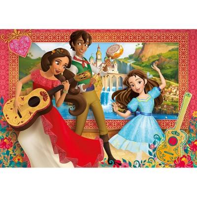 Clementoni Puzzle 60 pièces super color maxi : elena d'avalor