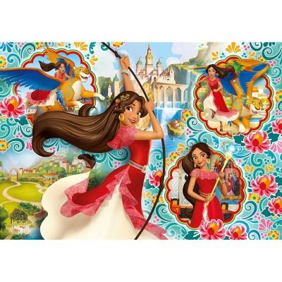 Clementoni Puzzle 104 pièces super color maxi : elena d'avalor