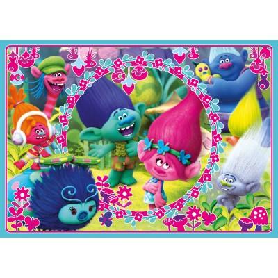 Clementoni Puzzle velours 60 pièces : les trolls