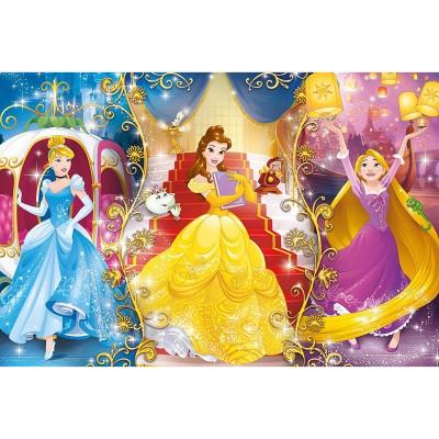 Clementoni Puzzle 104 pièces : princesses disney