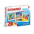 Clementoni Domino - Animaux de la mer