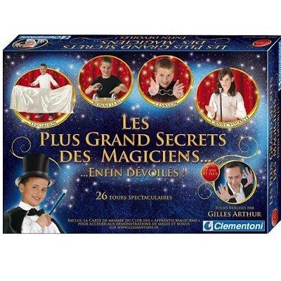 Clementoni Les plus Grands Secrets des Magiciens