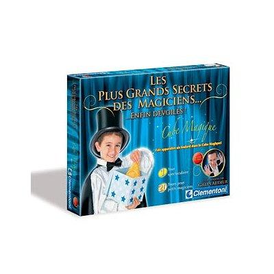 Clementoni Magie : Les plus grands secrets des magiciens : Le cube magique
