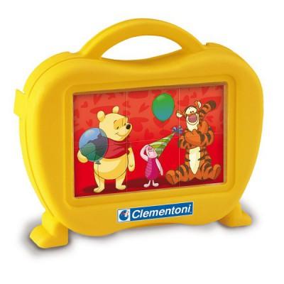 Clementoni Puzzle 6 cubes Disney : Winnie l'ourson