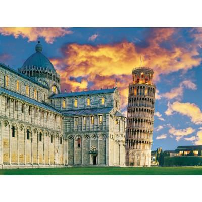 Clementoni puzzle 500 pi ces tour de pise italie rue des puzzles - Taille de la tour de pise ...
