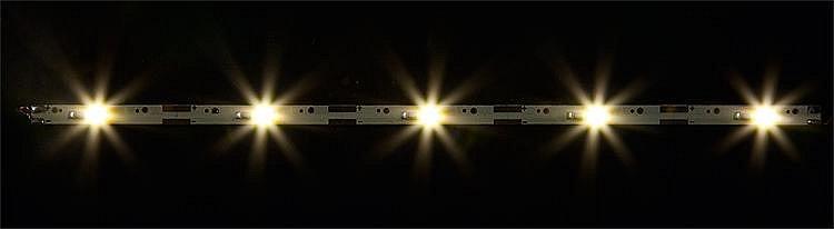 Faller Modélisme : eclairage : 2 rampes de led blanches