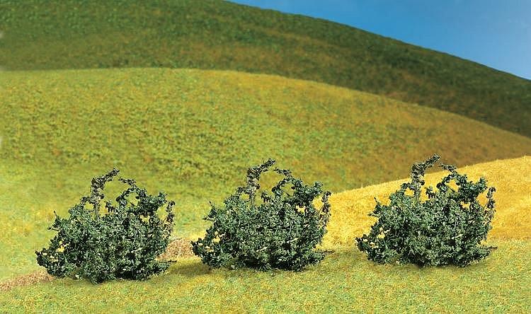 Faller Modélisme : végétation : 3 buissons premium