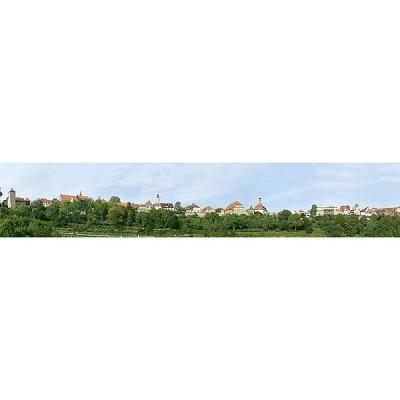 Faller Modélisme : arrière-Plans de modèle : petite ville