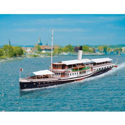 Schreiber-Bogen Maquette en carton : bateau à aubes sur le lac de constance, suisse