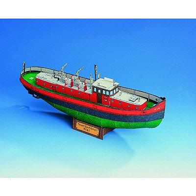 Schreiber-Bogen Maquette en carton : bateau de pompiers kiel