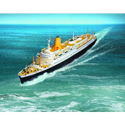 Schreiber-Bogen Maquette en carton : bateau ts bremen