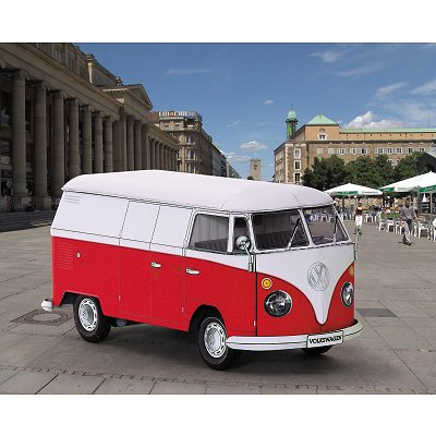 schreiber bogen maquette en carton vw combi bus rue des maquettes. Black Bedroom Furniture Sets. Home Design Ideas