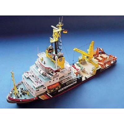 Schreiber-Bogen Maquette en carton : accessoires bateau ms mellum : découpes laser