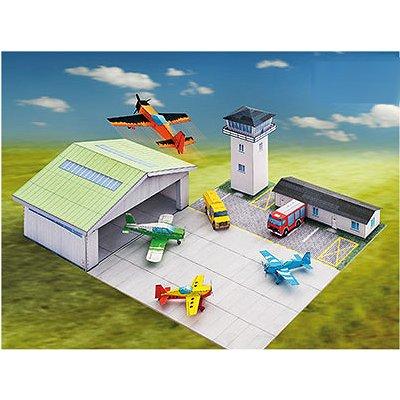Schreiber-Bogen Maquette en carton : aérodrome