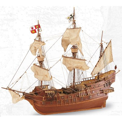 Artesania Maquette bateau en bois : san juan gallion xviè siècle