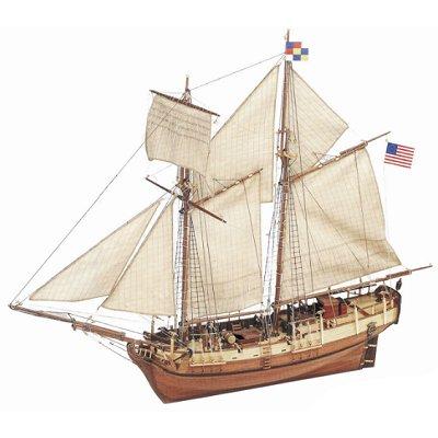 Artesania Maquette bateau en bois : independence 1775