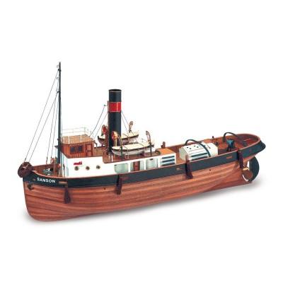 Artesania Maquette bateau en bois : sanson
