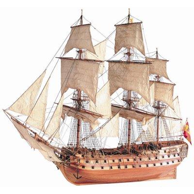 Artesania Maquette bateau en bois : san juan nepomuceno